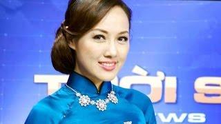 """Tiểu sử Hoài Anh - """"Gia thế khủng"""" của BTV hot nhất Thời sự 19h VTV"""