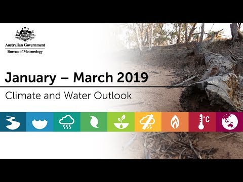 Climate And Water Outlook, January–March 2019