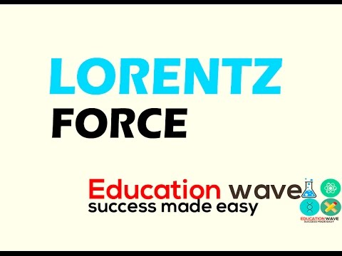 Lorentz force -physics  Notes