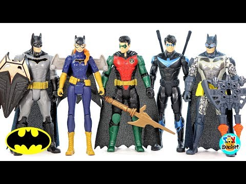 18 DC COMICS BUILDABLE FIGURINES WONDER WOMAN BATMAN SUPERMAN BUILDABLES TOYS
