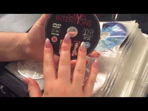 ASMR DVD collection show & tell whispers/soft spoken
