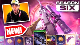 **NEW** SEASON 6 EVERYTHING UNLOCKED IN WARZONE!! (NEW SNIPER GAMEPLAY, NEW SUBWAY, AND MORE)