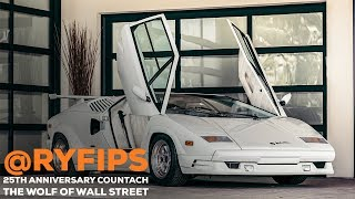 RyFips 25th Anniversary Countach. The Wolf Of Wall Street.
