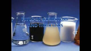 types of admixtures and their uses