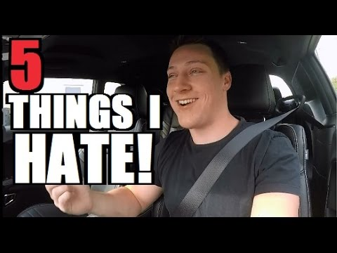 5 Things I HATE! About my 2015 Challenger Hellcat