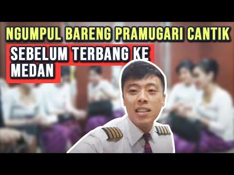 PILOT DIARY VLOG - Persiapan Terbang ID6882 Jakarta Medan #LIVE8 - Batik Air Captain Pilot