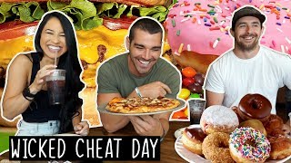 24 Hour Wicked Cheat Day | FEAST UP THE EAST!