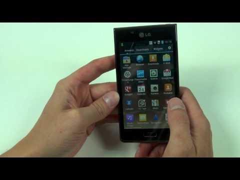 LG P700 Optimus L7 review - english (Full HD)