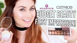 CATRICE + ESSENCE SWATCH EN FIRST IMPRESSION!