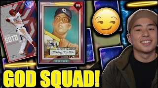 THE BEST GOD SQUAD IN MLB THE SHOW 20...