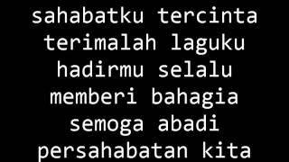 Lyric Lagu Sahabat By: Ali Sastra (Sangat Menyentuh hati para SAhabat)