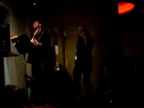 Lisa Salvedori singing with Martin (live) @ The Ja Ja Bar...VALERIE
