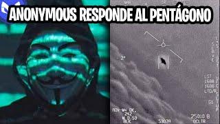 ANONYMOUS HABLA SOBRE VIDEO DEL PENTAGONO DE OVNIS!!!!!!! YouTube Videos
