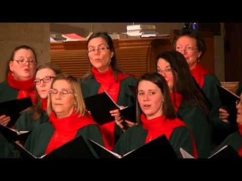 Once in Royal David's City - A.H. Mann & David Willcocks - Stairwell Carollers, Dec. 12, 2014