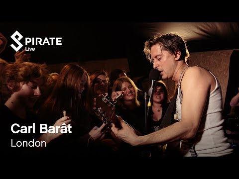 Carl Barât feat. BlackWaters - 'Don't Look Back Into the Sun' (HD) // Pirate Live // Pirate Studios