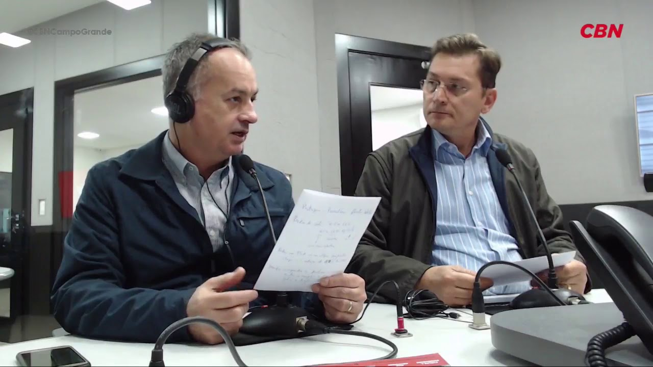 Entrevista CBN Campo Grande: Teodorico Alves