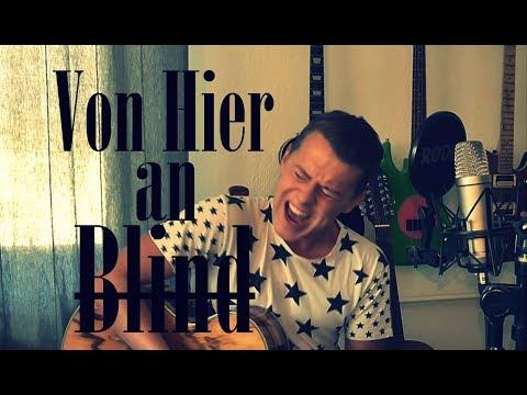 Von Hier An Blind - Marius Deutsch [Wir Sind Helden Akustik Cover]