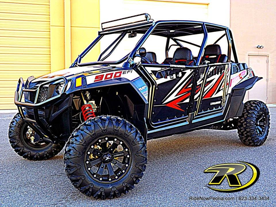 The Latest Custom Polaris Rzr Xp 4 900 Signature Series At