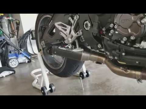 FZ-10 Austin Racing Exhaust, and AIS removal