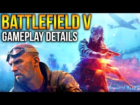 Battlefield 5 MAD Gameplay Details + Trailer Analysis BF5 Gunplay, Mechanics + Game modes BFV 2018