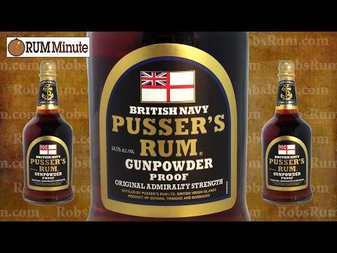 Pussers Gunpowder Proof Navy Rum