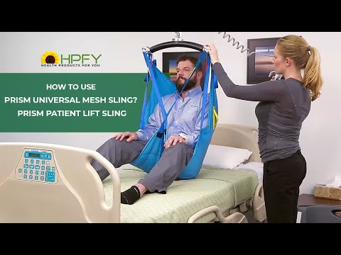 How To Use Prism Universal Mesh Sling?   Prism Patient Lift Sling