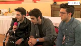 Il Volo interview to TV Blog Feb 14, 2015