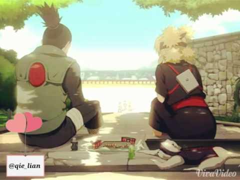 ShikaTema sweet moment (Shikamaru - Temari) - YouTube