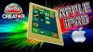 Apple IPAD Air - Play-doh Apple IPAD Air Tablet Playdough как сделать копию Айпад 아이 패드 태블릿