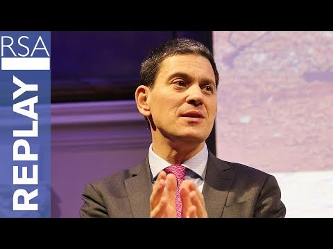 Refugees and the Political Crisis of Our Time | David Miliband | RSA Replay