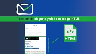 Firma email: elegante con HTML