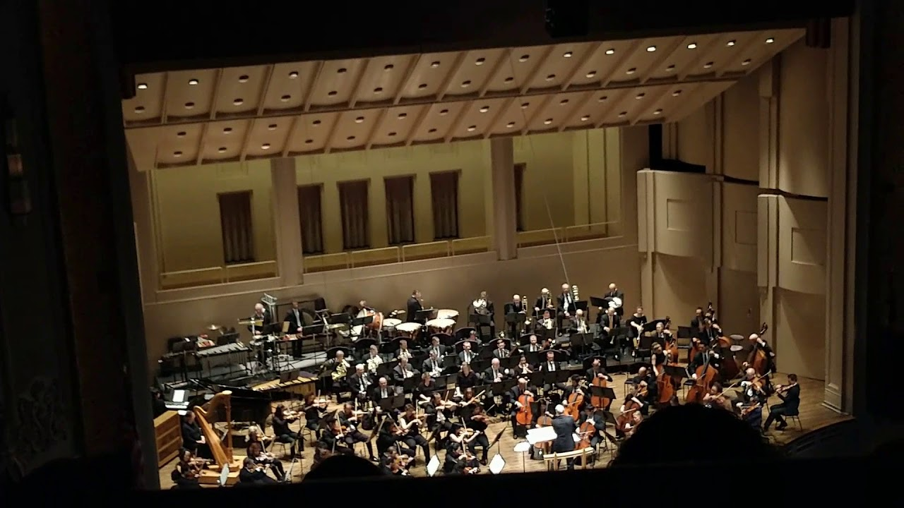 2019 Oregon Symphony Sci-fi at the Pops concert, AUDIO, some video