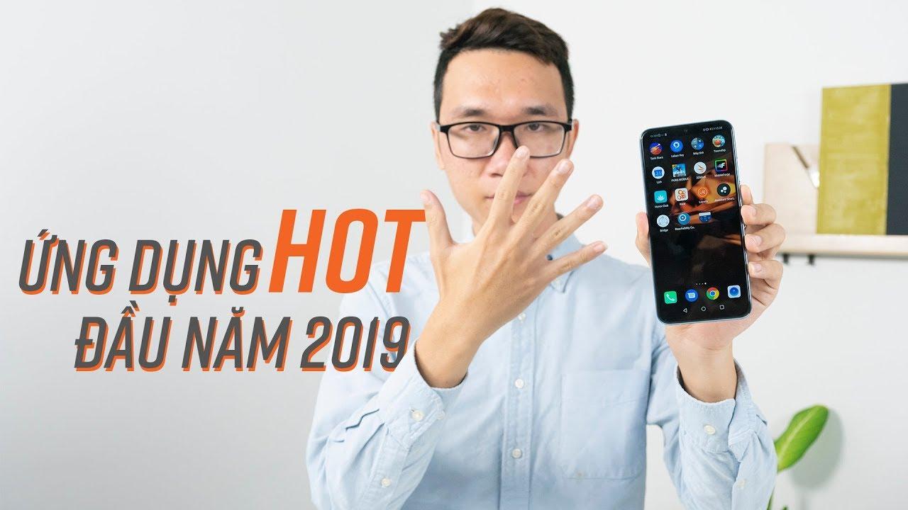 Khai xuân với 5 app tốt nhất đầu 2019