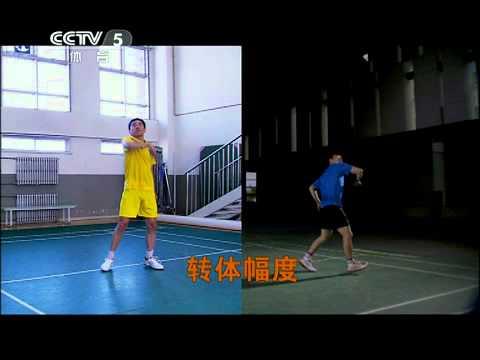 Fu HaiFeng teaches you how to smash - original video(另眼看羽球_高人高招高速)