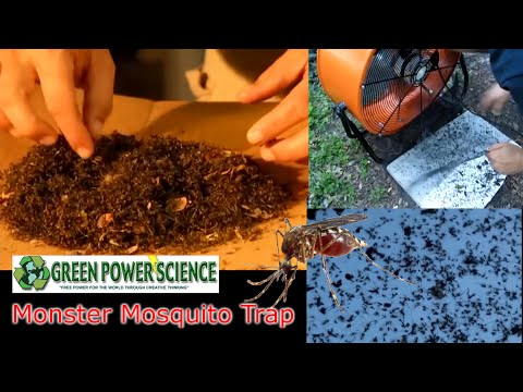 Simple, Effective DIY Mosquito Trap Made with a Box Fan