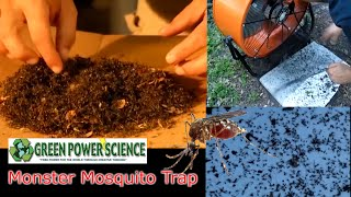 DIY MOSQUITO TRAP pesticide FREE mosquito control Solar Powered Fan West Nile Virus