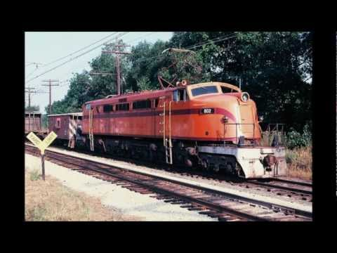South Shore Railroad Scenes, Chicago to Michigan City, 1977-2012
