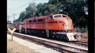 South Shore Railroad Scenes, Chicago to Michigan City, 1977-2012