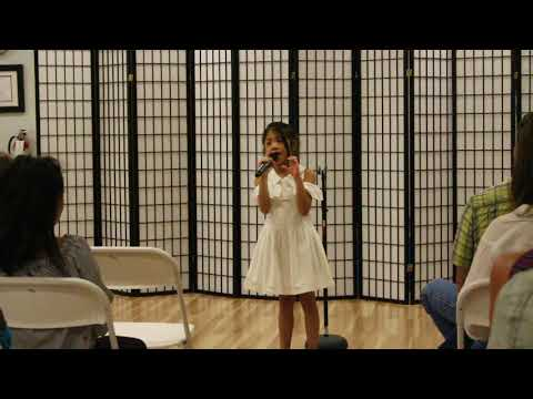 Surina's recital at Music in Motion summer camp.