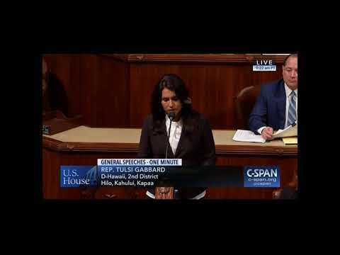 Rep. Tulsi Gabbard Urges Congress to Reauthorize CHIP For Hawaii