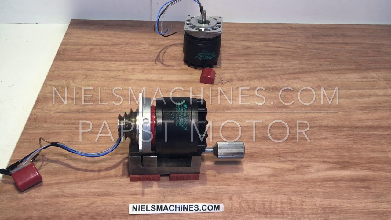 How To Connect The Papst Motor To 230v With 4 Wires To 230v Youtube