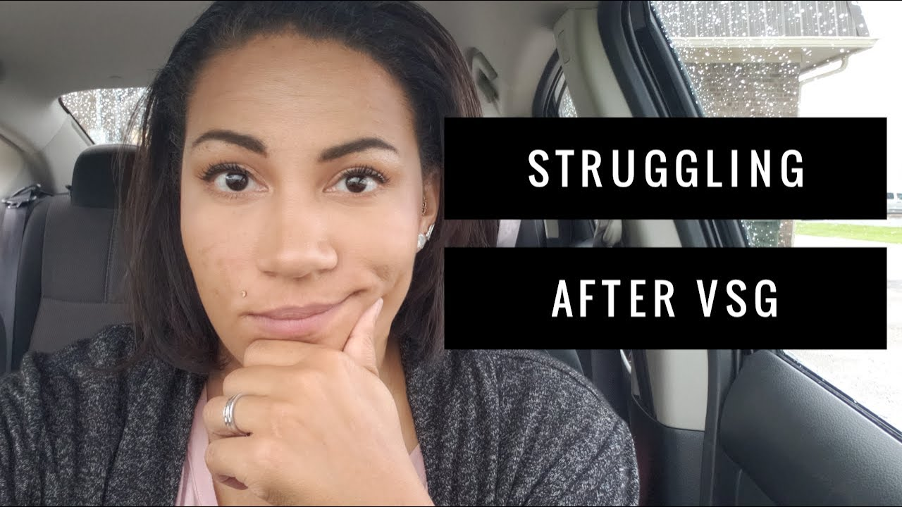 Struggling After VSG Surgery // Chassity Gets Fit - YouTube