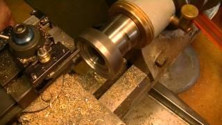 Clock repair tutorial. #3. Cutting a new wheel for a barrel. Part 1.