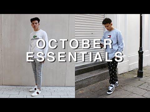 October Essentials | (Gucci, Tommy Hilfiger, MKI)