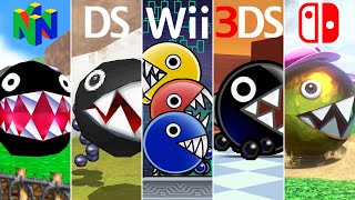 Evolution of Chain Chomp Battles in Mario Games (1996-2020)
