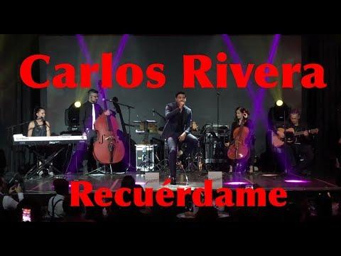 Carlos Rivera canta en vivo Recuérdame para GLOW 13th