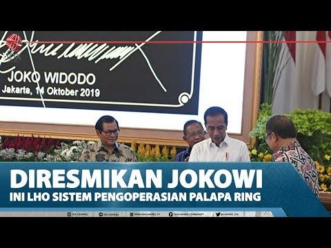 DIRESMIKAN JOKOWI, INI LHO SISTEM PENGOPERASIAN PALAPA RING – MARKET REVIEW Part 1