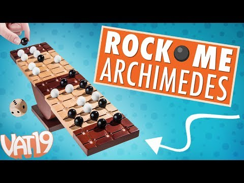 Rock Me Archimedes: The Marbles Teeter-Totter Game