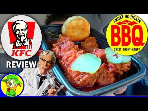 KFC® | Smoky Mountain BBQ Extra Crispy™ Tenders Review! 🐔👴🎤