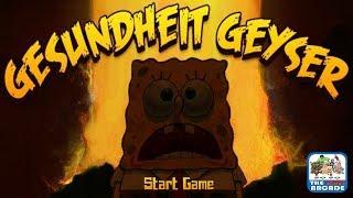 SpongeBob SquarePants: Gesundheit Geyser - Sneeze Past Volcanic Geysers (Nickelodeon Games)